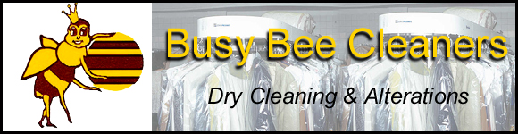 Busy Bee Cleaners, Dry Cleaning & Alterations